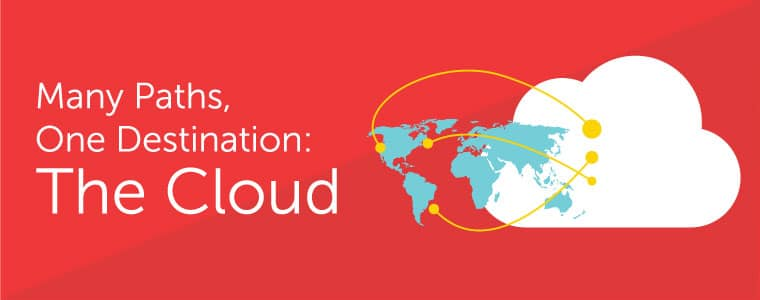 Many paths, one destination: the cloud